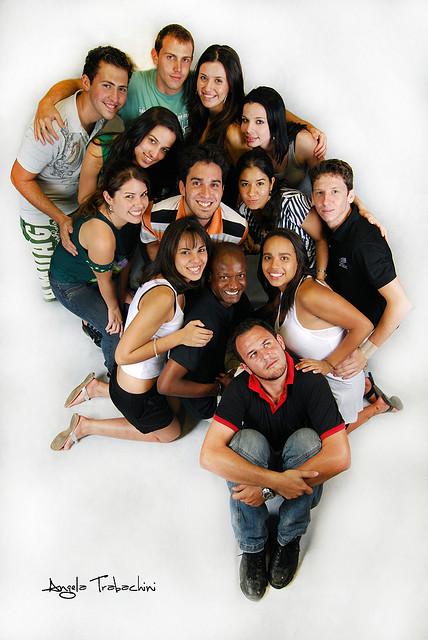 Estudantes da atlética do CEUNSP